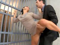 Sandra Romain Prison Anal Sex tube porn video