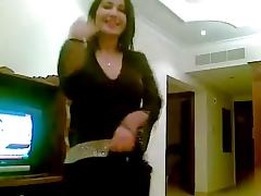 gorgeous young arab girl dancing and showing her assets tube porn video