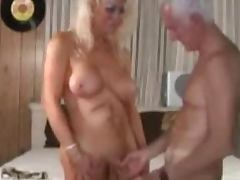 Mature shemale and mature man enjoying sex tube porn video