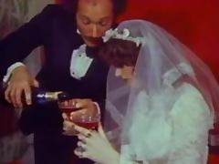 Vintage bride gets her asshole pounded doggy style tube porn video