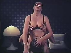 Sexy masked group in the dark tube porn video