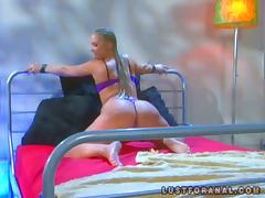 Stunning Flower Tucci gets ass fucked doggystyle tube porn video