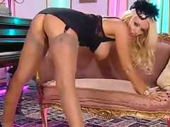 Lucy zara nylon stockings and heels tube porn video