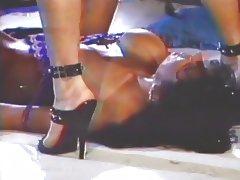 Lesbian foot high heels fetish enjoyment tube porn video