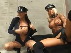 Fucking in prison in leather gloves on 2 tube porn video