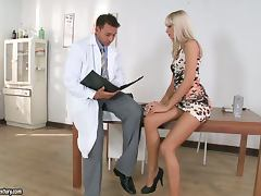 Erica Fontes seduces a doctor and makes him fuck her sweet snatch tube porn video