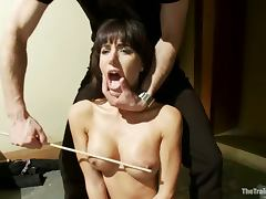 Busty brunette Gia Dimarco is paralyzed and fucked hard tube porn video