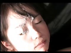 EJAC FACIALE POUR UNE PETITE ASIATE tube porn video