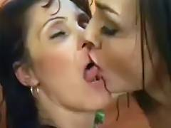 Breasty Mother I'd Like To Fuck sucks the squirt outta that Muff tube porn video