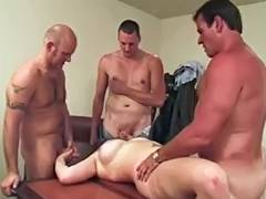 Large Titted Dana three Boyfrends double penetration And Hot Anal tube porn video