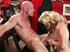 blonde sensual mommy loves a big cock tube porn video