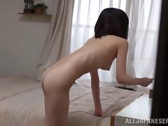 Airi Suzumura gets her hairy pussy amazingly fucked tube porn video