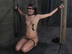 blindfolded, tied and ready to get fucked tube porn video