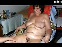 BBW granny and young girl masturbating together tube porn video