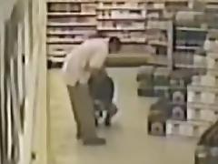 After hours employees at supermarket tube porn video