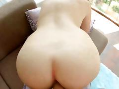 Natural huge titted amateur beautie loves cock tube porn video