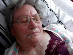 German Granny Cumshot 1 tube porn video