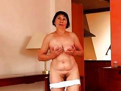Very old granny dildo fun tube porn video