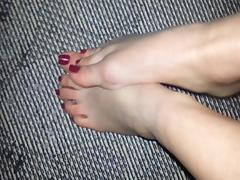 Lovely Wife feet tease tube porn video