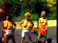 Outdoor Workout Turns Into An Orgy Party with old ladies tube porn video