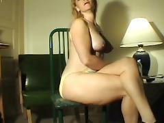 Farting Blonde milf tube porn video