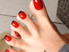 Sexy Feet and Toes tube porn video