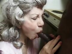 My Grandma With a Black Dude tube porn video