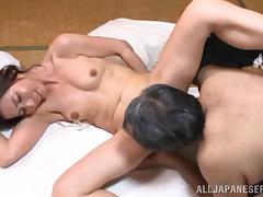 Mika Matsushit the mature Japanese gets fucked by old dude tube porn video