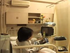 Blowjob and Japanese fucking from a hot naughty nurse tube porn video