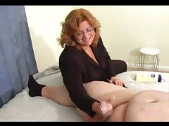 Humiliating Handjob For Little Cock tube porn video