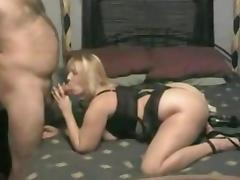 Chubby blonde amateur wife makes a homemade sex tape tube porn video