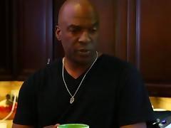 Mischa Brooks enjoys an Interracial doggystyle drilling tube porn video