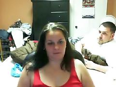 Chatroulette BBW tube porn video