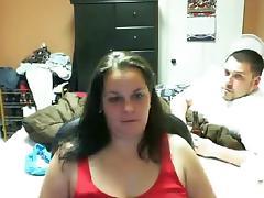 Chatroulette BBW tube porn video