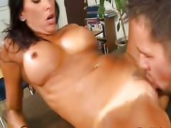 Lezley Zen and Johnny Castle tube porn video