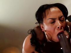 Jade Aspen suck black dick of Rico Strong tube porn video