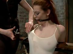 Justine Joli gets her pussy tortured and toyed by a master tube porn video