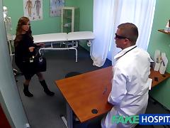 Legal Age Teenager model cums for tattoo removal doctor enjoys himself in her constricted cum-hole tube porn video