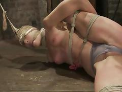 No mercy for a kinky and naughty sex slave Amber Rayne tube porn video