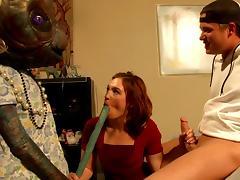 e. t. gets his cock sucked tube porn video