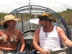 Busty milf is enjoying that huge dick on be passed on motor boat tube porn video