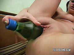 Little FuckToy Puerile Role of With Sodabottle tube porn video