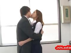 Japanese indulge gagging overhead a hard penis tube porn video