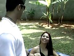 Outdoors Deepthroat and Anal Fucking by a Hard Cock tube porn video