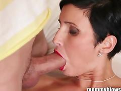 MommyBB Busty euro MILF Maid is sucking the h tube porn video