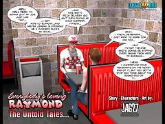 3D Comic: Raymond. The Untold Tales. Episode 3 tube porn video