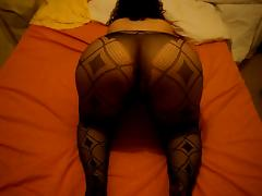 Marina amateur busty (My big ass in stockings) tube porn video