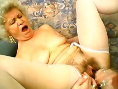 Horny Granny Enjoys In Wild Lesbian Scene With Her Friend tube porn video
