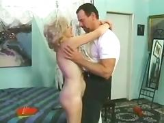 Mature woman with curly hair gets fucked rough tube porn video