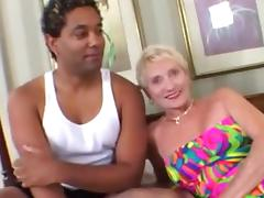 Granny Can't Live Without Younger Darksome Strapon tube porn video